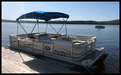 picture of pontoon boat